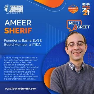 Meet & Greet with Ameer Sherif