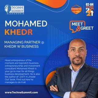 Meet & Greet with MohamedHossam Khedr